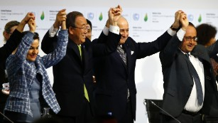 Final draft of climate deal formally accepted in Paris