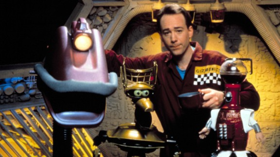 """Mystery Science Theater 3000"" ran for 11 seasons on ""Comedy Central"" and ""The Sci-Fi Channel."""