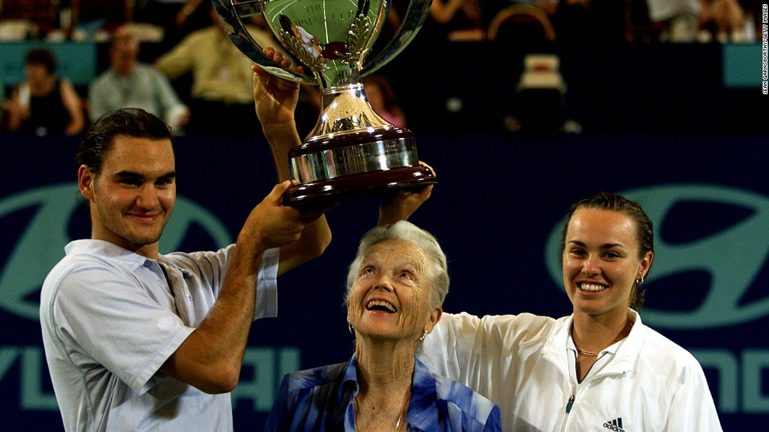 Federer and Hingis won the Hopman Cup for Switzerland back in 2001.