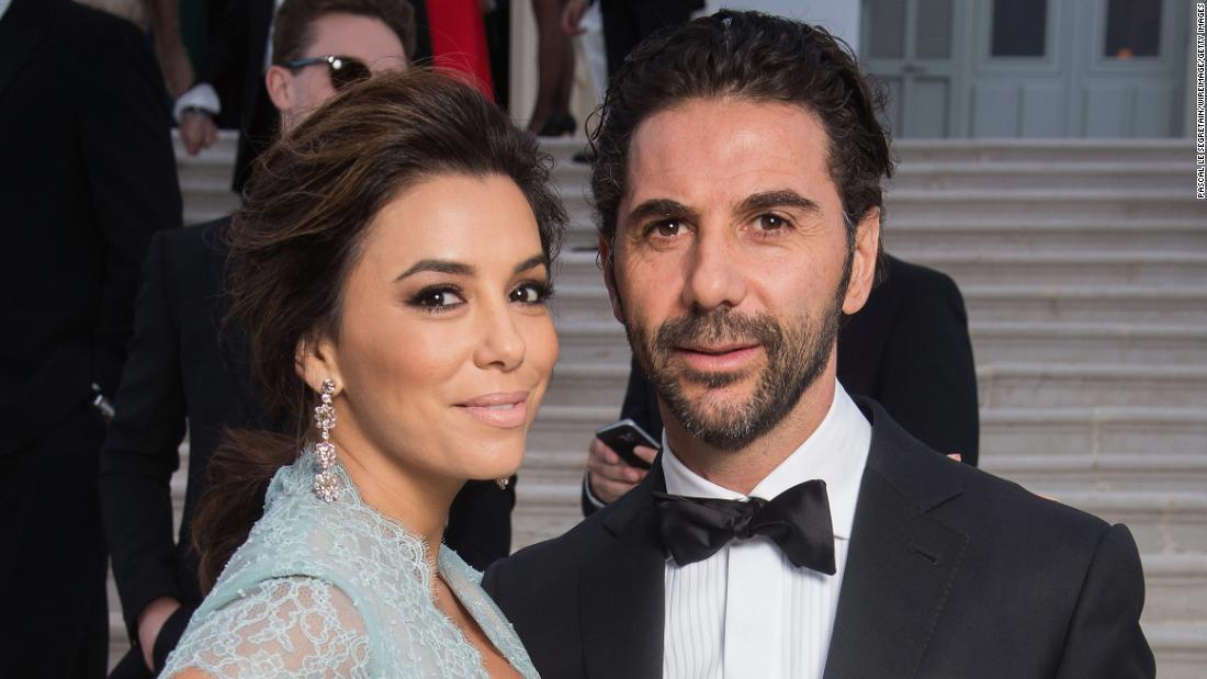 "Actress Eva Longoria and husband José Antonio ""Pepe"" Bastón  welcomed son Santiago Enrique"