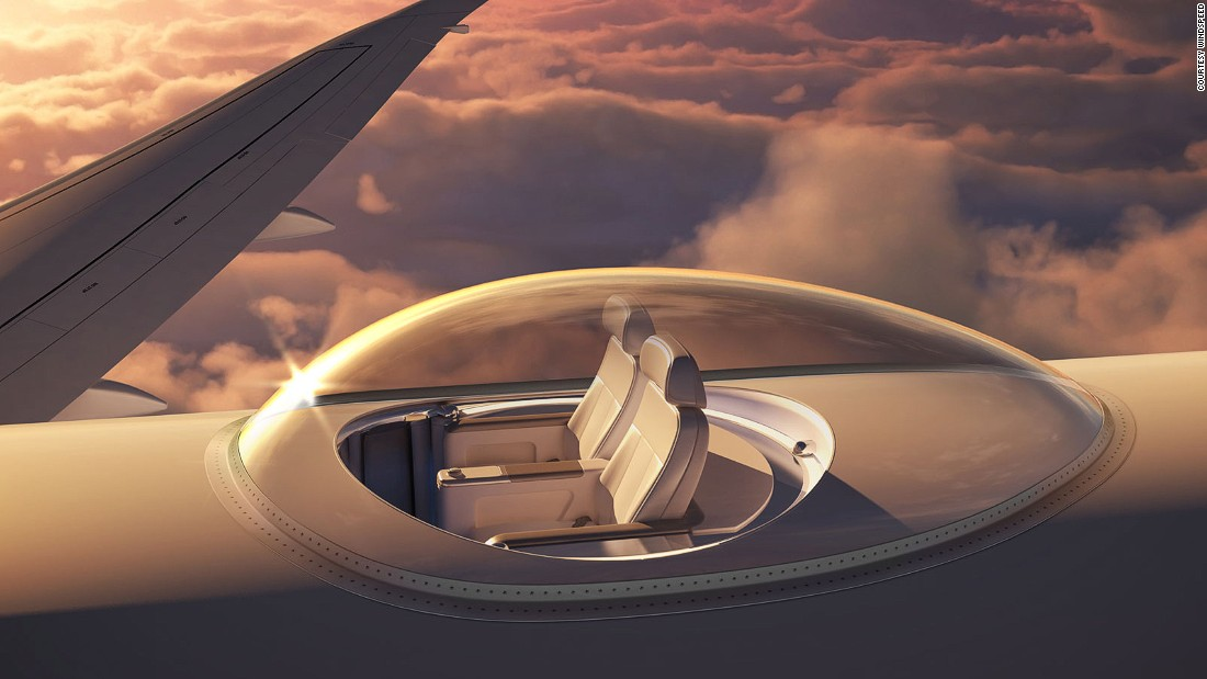 & Dazzling airplane patent puts seats on top of aircraft | CNN Travel