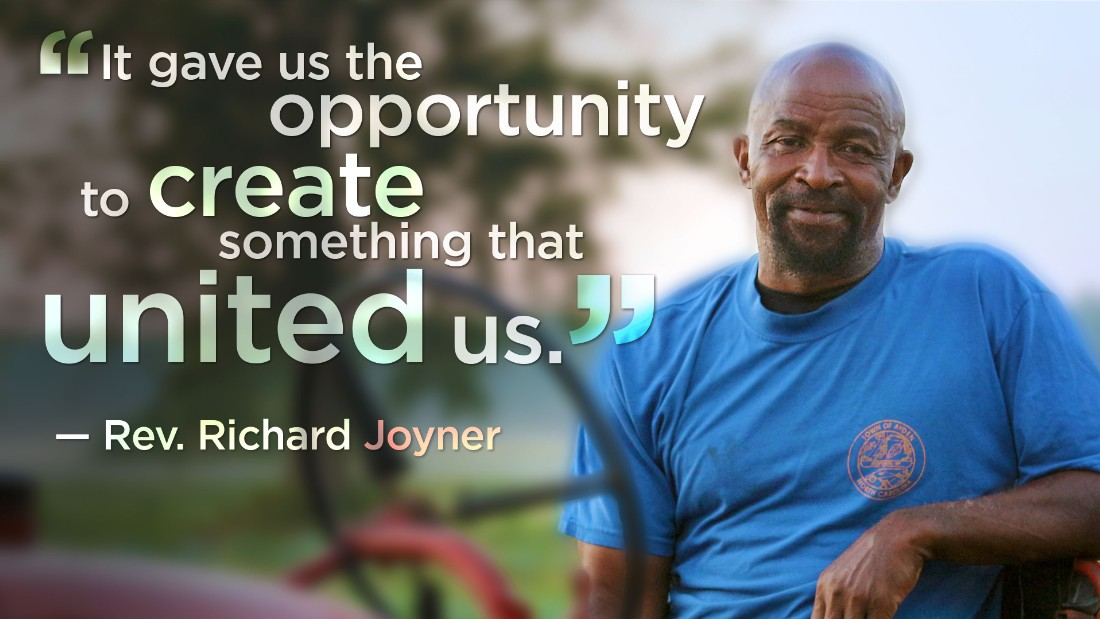 Rev. Richard Joyner is leading his rural North Carolina community to better health by helping young people grow and distribute nearly 50,000 pounds of fresh food a year.