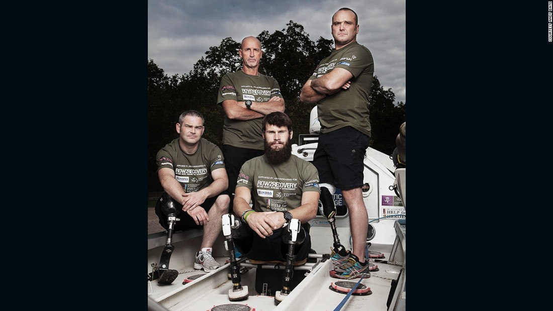 The crew are from different parts of the UK and had only trained together briefly before arriving in the Canary Islands for the race.
