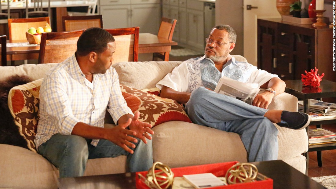 "Laurence Fishburne, right, had a bit role as Swain. His career flourished after that, with roles in ""Pee-wee's Playhouse"" on television and films like ""The Matrix"" and 'What's Love Got to Do With It."" Fans now enjoy him the father of Anthony Anderson's character on ABC's hit comedy ""Black-ish."""