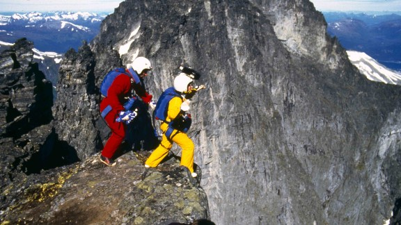 """Carl and Jean Boenish set the first BASE jumping Guinness World Record in 1984, on the Norwegian """"Troll Wall"""" mountain range. Within days, their triumph was followed by the tragedy of Carl's death during a """"Troll Wall"""" jump."""