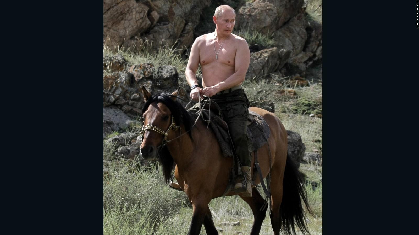 Resultado de imagen para vladimir putin horse cnn