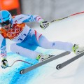 Matthias Mayer won the downhill at Rosa Khutor in the Sochi Olympics in 2014