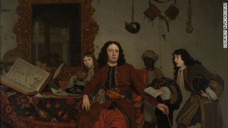 This 1687 work by Dutch Golden Age painter Michiel van Musscher is awaiting a new title.