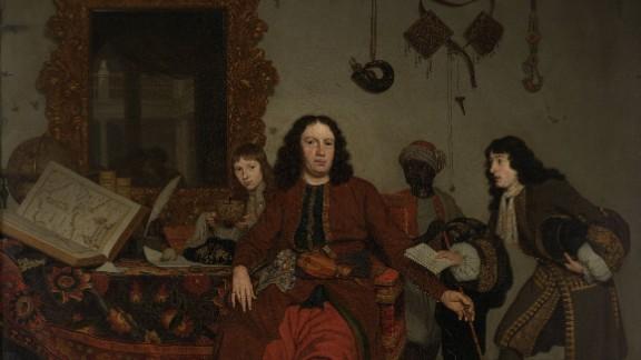 This 1687 work by Dutch Golden Age painter Michiel van Musscher is awaiting a new title.