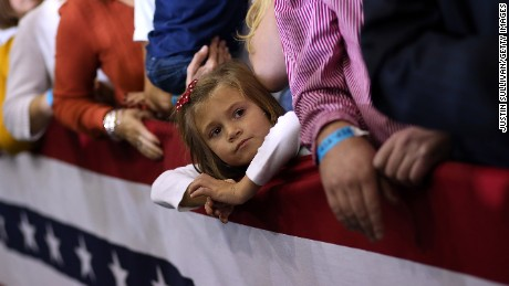 Your politics don't translate to your kids