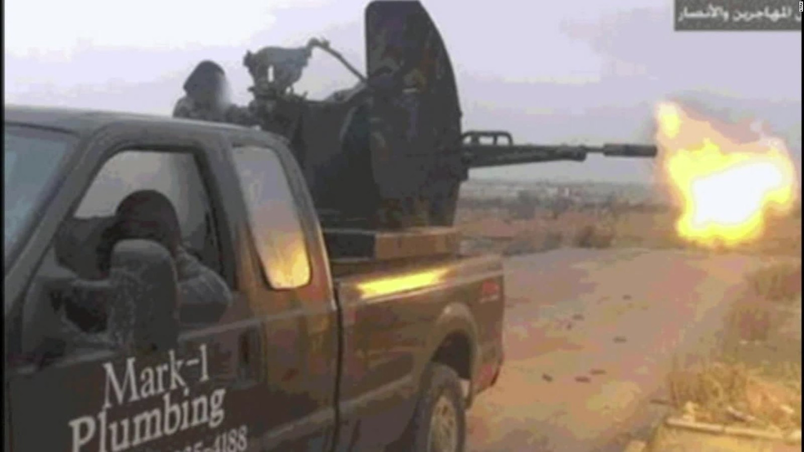 Plumber sues auctioneer after truck shown with terrorists - CNN