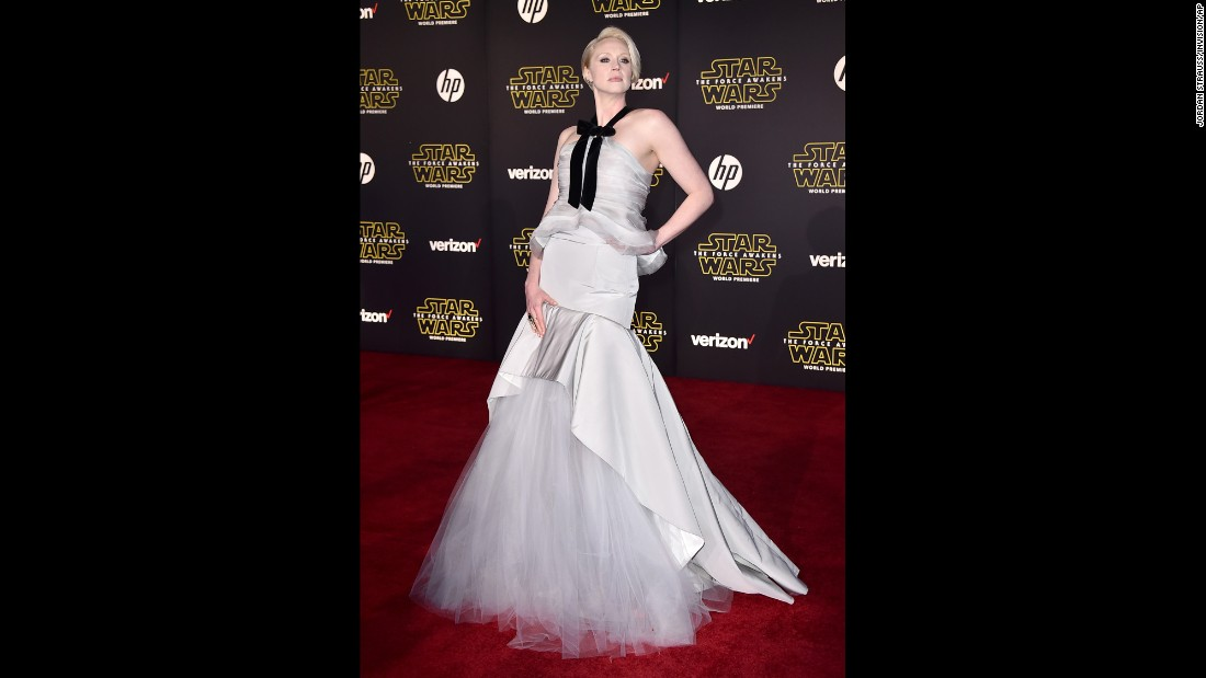"Many fans will recognize Gwendoline Christie as Brienne from ""Game of Thrones,"" but she also stars as Captain Phasma in ""Star Wars: The Force Awakens."""
