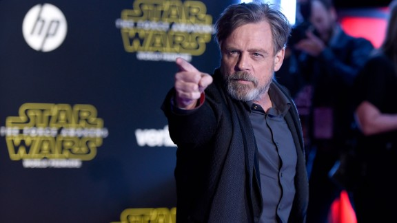 "Mark Hamill -- yes, Luke Skywalker himself -- reprises his famous role in ""The Force Awakens,"" although he's been mysteriously missing from trailers promoting the movie."