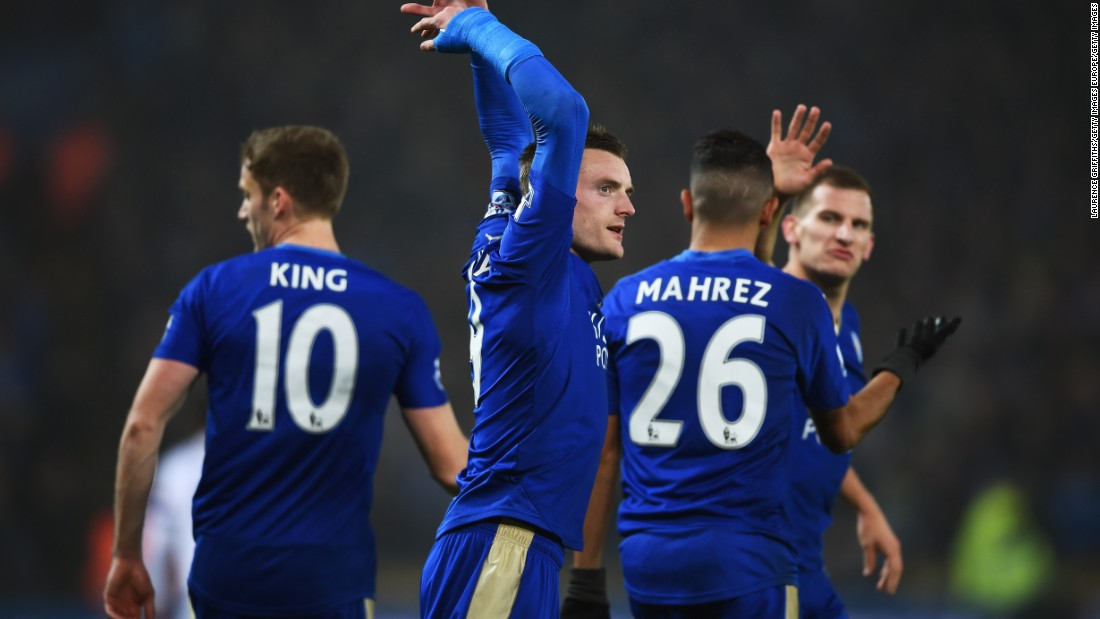 A high tempo, counter attack game has been the bedrock of Leicester's success along with an impressive team spirit.