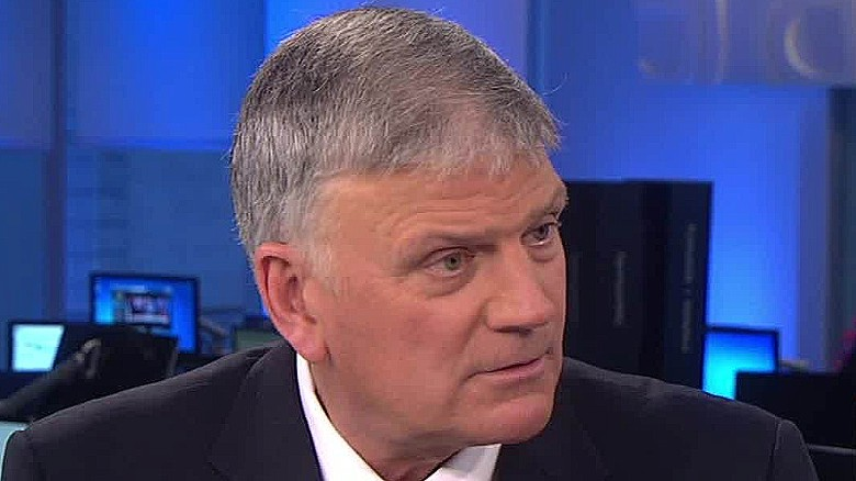 Evangelist Franklin Graham: Put a 'halt on immigration'