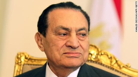 Hosni Mubarak -- shown here in 2011 -- held power for 30 years before being ousted amid massive protests.