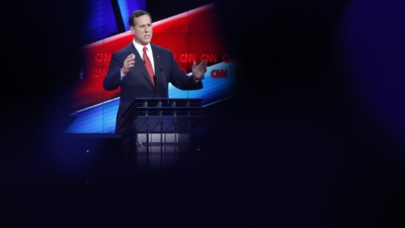 """Santorum, who served Pennsylvania in the U.S. Senate, also ran for President in 2012. """"This is an important time in our country"""
