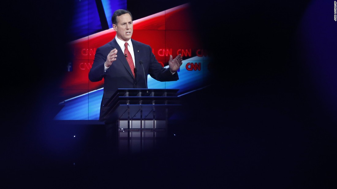"Santorum, who served Pennsylvania in the U.S. Senate, also ran for President in 2012. ""This is an important time in our country's history,"" he said in his opening remarks. ""We have entered World War III. World War III has begun, and we have a leader who refuses to identify it and be truthful to the American people to the stakes that are involved, in part, because his policies have led us here."""