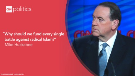 Memorable quotes from the last GOP debate of 2015