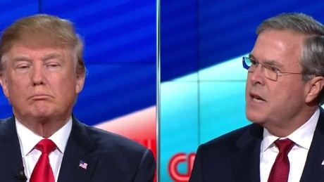 jeb bush donald trump cnn gop debate chaos candidate muslims isis 12_00000210.jpg