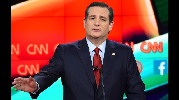 """Cruz, the junior U.S. senator from Texas, has been gaining in the polls recently. """"We need a President who understands the first obligation of the commander-in-chief is to keep America safe,"""" he said in his opening remarks. """"If I am elected President, we will hunt down and kill the terrorists. We will utterly destroy ISIS."""""""