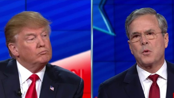 donald trump jeb bush cnn gop debate sot _00011919.jpg