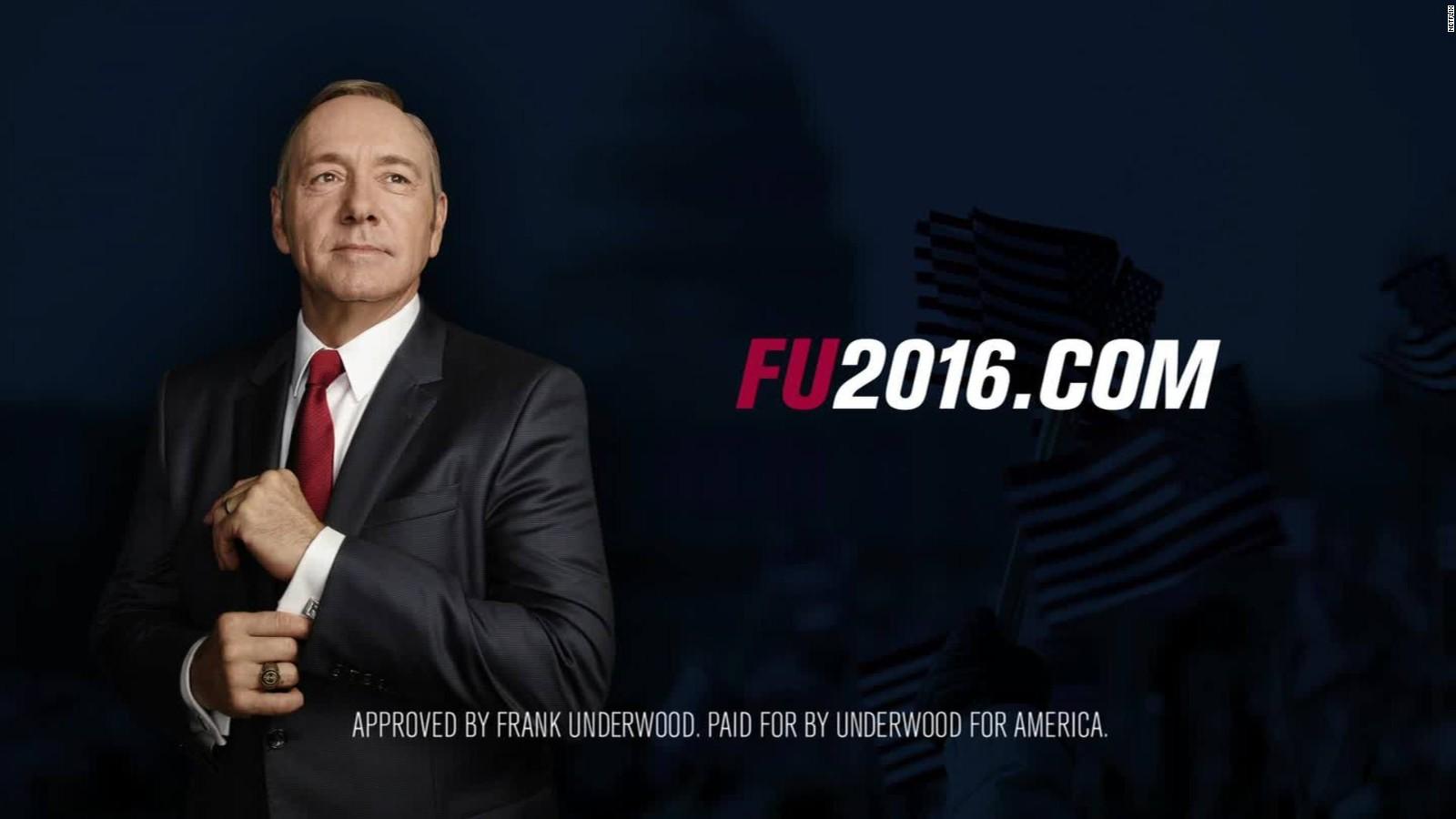 President Underwood Appears During Gop Debate Cnn Video