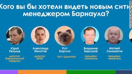"""Who would you like to see as the new mayor of Barnaul?"""