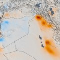 NASA air quality Mideast trend