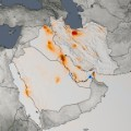 NASA air quality Persian Gulf