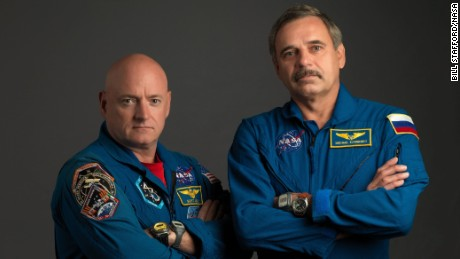 Scott Kelly and Russian cosmonaut Mikhail Kornienko participated in the One-Year Mission.