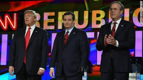 Which mattered more: Rubio vs. Cruz or Bush vs. Trump?