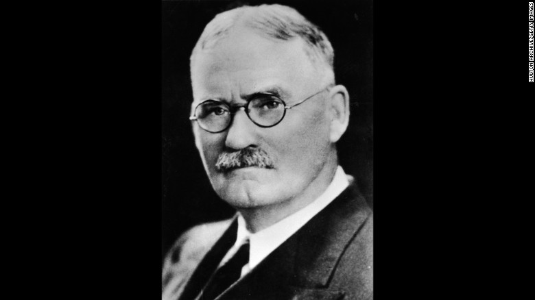 James Naismith: Basketball inventor is celebrated with Google Doodle