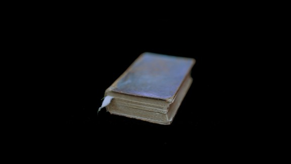 """This Bible, owned by former slave Ishmael Armour, is among the historical objects photographed by Wendel White. The following images are from White's """"Manifest"""" collection."""