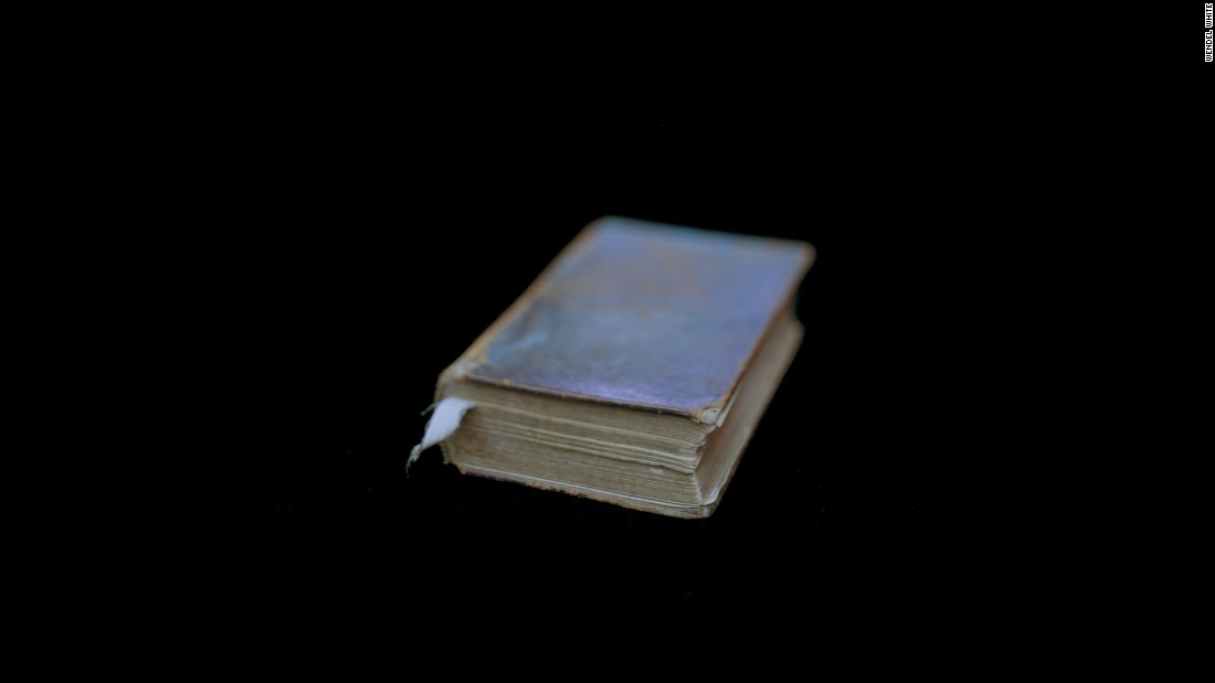 "This Bible, owned by former slave Ishmael Armour, is among the historical objects photographed by Wendel White. The following images are from White's ""Manifest"" collection."