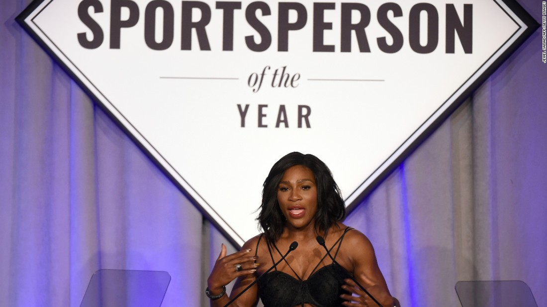 Serena Williams has been crowned Sports Illustrated (SI) Sportsperson of the Year after a 2015 in which she won three grand slam singles titles to take her tally to 21, and lost only three times in 53 matches. But her victory hasn't been well received by everyone.