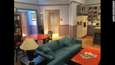 A Re Creation Of Jerry Seinfeld 39 S Tv Apartment Is On Display