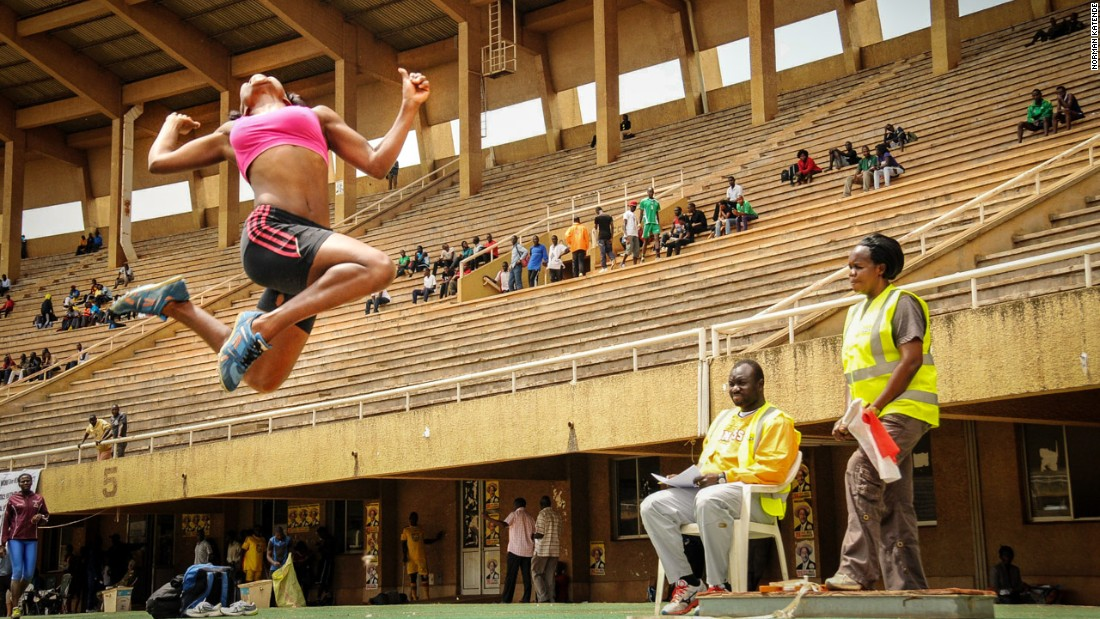 "<a href=""https://www.instagram.com/nkatende/"" target=""_blank"">Norman Katende</a> won second place in the sport category with this great action shot of an athlete showcasing her talents during the triple jump event at the national stadium in Namboole."