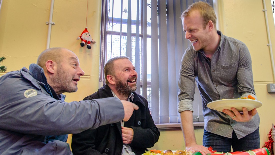 Naismith sponsors Christmas lunches at centers for the homeless in Glasgow -- where he spent five years with Rangers -- and Liverpool, the northern English city in which Everton are based.