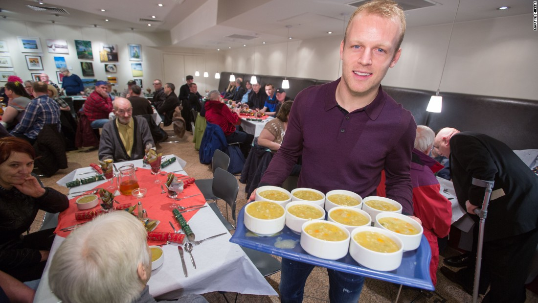Naismith told CNN Sport that once he'd established himself in Rangers first team he was keen to give something back. He contacted the Loaves and Fishes center in East Kilbride and has been a festive visitor every year. He also is an ambassador for Dyslexia Scotland, and donates two tickets for every Everton home game to jobless football fans.