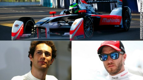 Bruno Senna (left) and Nick Heidfeld have a total of 14 years' experience racing in Formula One.