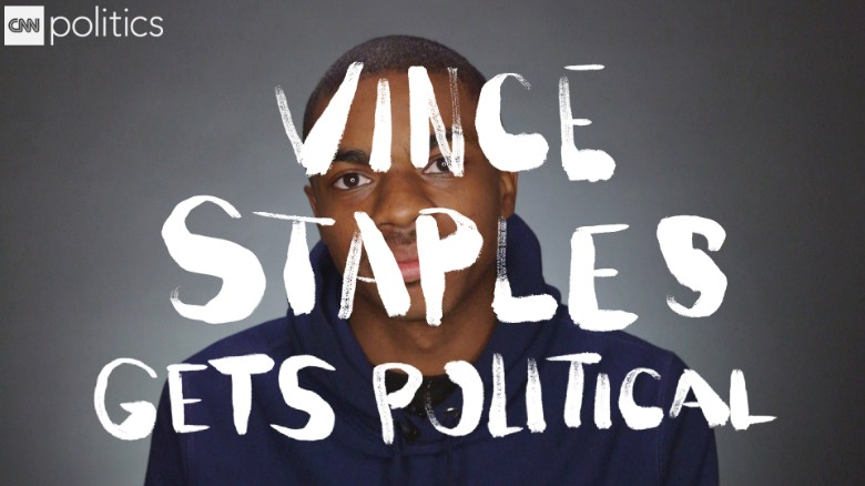 Rapper Vince Staples on drug glorification in rap music