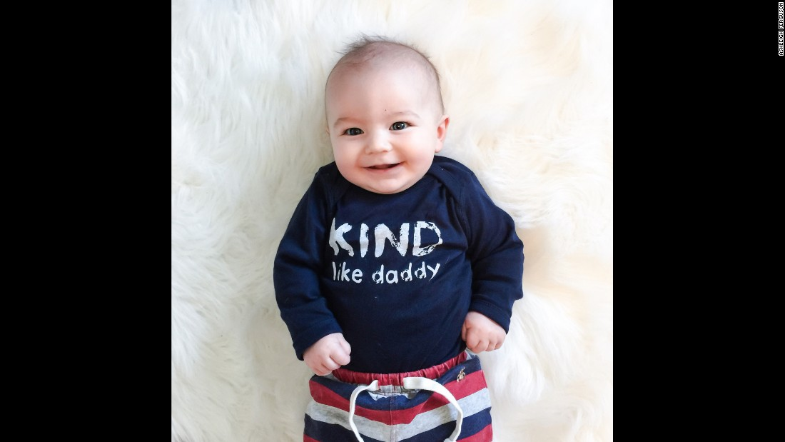 "You can't start teaching kindness too early! ""Kind Like Daddy"" is the message of this infant <a href=""http://www.freetobekids.com/"" target=""_blank"">Free to Be Kids</a> T-shirt."