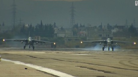 Inside look at Russia's military operation in Syria