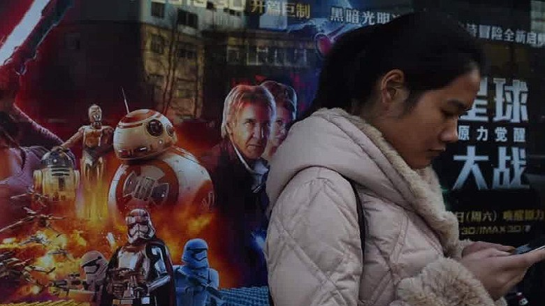 'Star Wars' movie release delayed in China