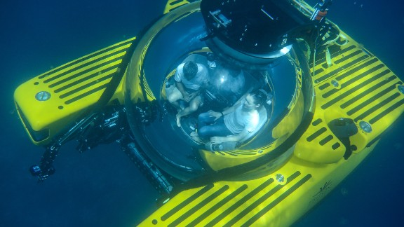 Triton's 3300/3 submarine is the company's most popular model. It seats a pilot and two passengers and dives to 3,300 feet. A more sophisticated Triton model was recently used by undersea explorer David Attenborough to explore Australia's Great Barrier Reef.