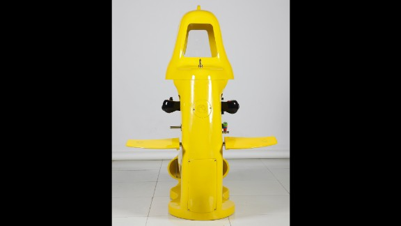 This Spymaster One Man Submarine sells for about $2,100. Useful for inspecting the hulls of ships or for use by paramilitary or security outfits, it's designed to propel one person under water at depths of about 33 feet.