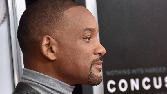 """NEW YORK, NY - DECEMBER 16:  Actor Will Smith attends the """"Concussion"""" New York Premiere at AMC Loews Lincoln Square on December 16, 2015 in New York City.  (Photo by Mike Coppola/Getty Images)"""