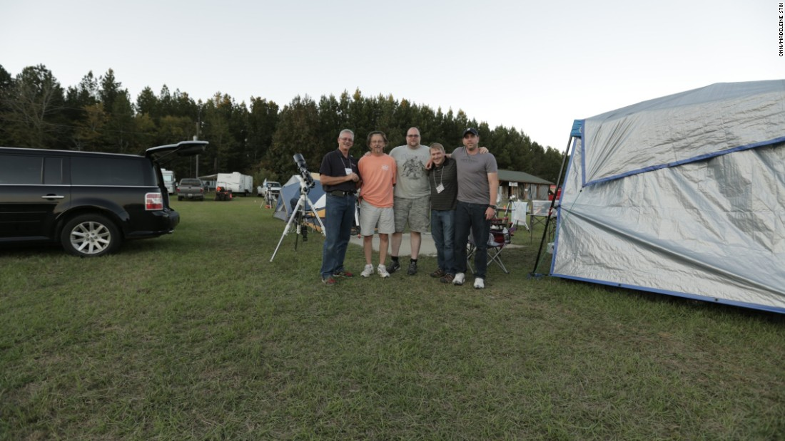 Amateur astronomers camp out during the annual star party, held every October at the Deerlick Astronomy Village.