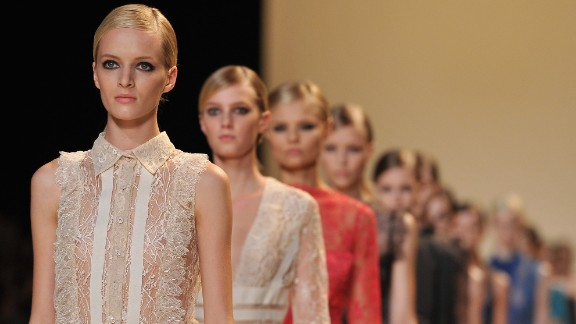 Ultra-thin models in France will need to provide bill of health from doctor, under new laws.